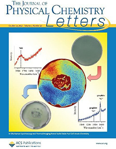 The cover of The Journal of Physical Chemistry Letters, depicting results from optical studies of solid oxide fuel cells. October 18, 2012, Volume 3, Issue 20, Pages 2922-3080.